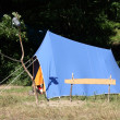 Stock Photo: Tent in nature