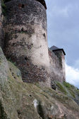 Ancient castle's ruins — Stock Photo
