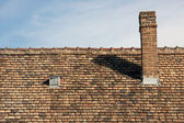 Top of a house — Stock Photo