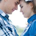 Happy teen couple — Stock Photo #11485338