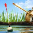 Stock Photo: Angler concept