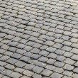 Old cobble stone street — Stock Photo