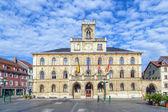 Stadhuis van weimar in duitsland, unesco wereld erfgoed site — Stockfoto
