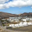 Village Uga on Canary Island Lanzarote, Spain - Stock Photo