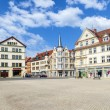 Famous baroque market place in Gotha — Stock Photo
