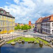 View from Schloss Friedrichstein to the center of Gotha — Stock Photo