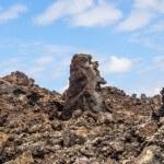 Volcanic stones in Timanfaya, Lanzarote — Stock Photo