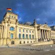 Famous Reichstag in Berlin, Germany — Stock Photo #11026303