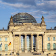 Famous Reichstag in Berlin, Germany — Stock Photo #11026511