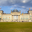 Famous Reichstag in Berlin, Germany — Stock Photo #11026679