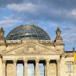 Famous Reichstag in Berlin, Germany — Stock Photo #11026768