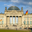 Famous Reichstag in Berlin, Germany — Stock Photo #11027064