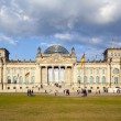 Famous Reichstag in Berlin, Germany — Stock Photo #11027099