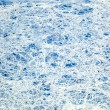 Sheet of ice floating on the arctic ocean - Stock Photo