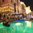 Gondolas at VenetiResort Hotel & Casino — Stock Photo #11437245
