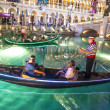 Gondolas at VenetiResort Hotel & Casino — Stock Photo #11438024