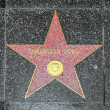 Harrison Ford's star on Hollywood Walk of Fame — Stock Photo