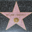 William Demarest's star on Hollywood Walk of Fame — Stock Photo