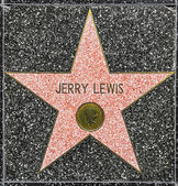 Jerry Lewis's star on Hollywood Walk of Fame — Stock Photo