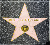 Beverly Garland's star on Hollywood Walk of Fame — Stock Photo