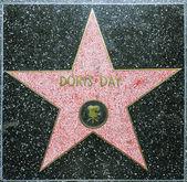 Doris Day's star on Hollywood Walk of Fame — Stock Photo