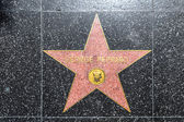 George Peppard's star on Hollywood Walk of Fame — Stock Photo