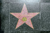 Quinn Martin's star on Hollywood Walk of Fame — Stock Photo