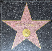 Peter Donald's star on Hollywood Walk of Fame — Stock Photo