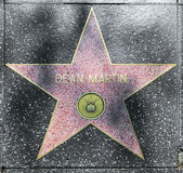 Dean Martin's star on Hollywood Walk of Fame — Stock Photo