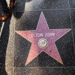 Royalty-Free Stock Photo: Elton John star on Hollywood Walk of Fame