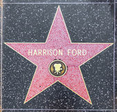 Harrison Fords star on Hollywood Walk of Fame — Stock Photo