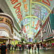 Fremont Street in Las Vegas, Nevada by night — Stock Photo #11545560