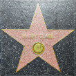 Buddy Clark's star on Hollywood Walk of Fame — Stock Photo