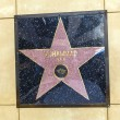 Muhammad Ali's star on Hollywood Walk of Fame — Stock Photo