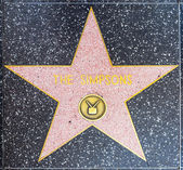The Simpsons star on Hollywood Walk of Fame — Stock Photo