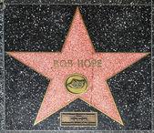 Bob Hope's star on Hollywood Walk of Fame — Stock Photo