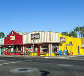 Frontier Street in afternoon sun in Wickenburg — Stock Photo