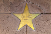 Star of Kay Starr on sidewalk in Phoenix, Arizona. — Stock Photo