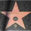 Andrea Bocelli's star on Hollywood Walk of Fame - Stock Photo
