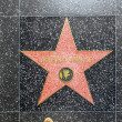 Patrick Swayze's star on Hollywood Walk of Fame - Stock Photo