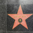 Johnny Depp's star on Hollywood Walk of Fame - Stock Photo