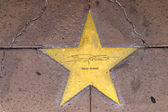 Star of Gary Grant on sidewalk in Phoenix, Arizona. — Stock Photo