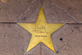Star of Woody Herman on sidewalk in Phoenix, Arizona. — Stock Photo