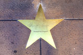 Star of Humphrey Bogart on sidewalk in Phoenix, Arizona. — Stock Photo
