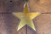 Star of Ingrid Bergmann on sidewalk in Phoenix, Arizona. — Stock Photo
