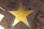 Star of Clarc Gable on sidewalk in Phoenix, Arizona. — Stock Photo