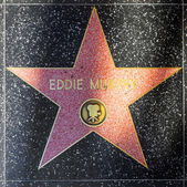 Eddie Morphy's star on Hollywood Walk of Fame — Stock Photo