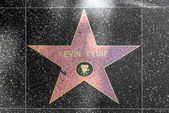 Kevin Kline's star on Hollywood Walk of Fame — Stock Photo