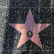 Chuck Norris star on Hollywood Walk of Fame - Stock Photo