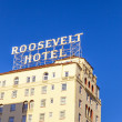Facade of famous historic Roosevelt Hotel - Foto de Stock  